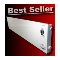 2kW Panel Heater   Thermostat & 24 Hour Timer   MYLEK ...