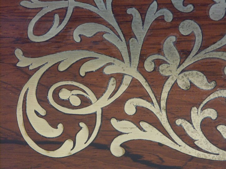 How To Inlay Brass Into Wood