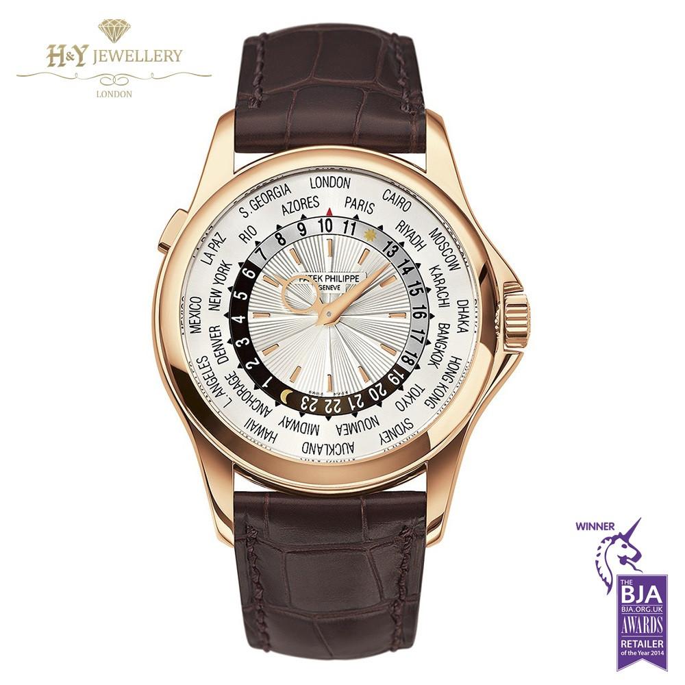 Patek Philippe World Time Rose Gold  Ref 5130R018