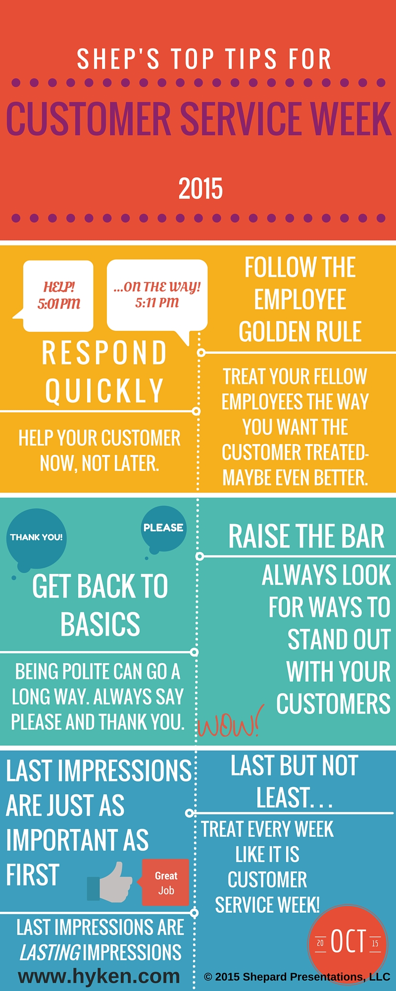 excellent customer service phrases