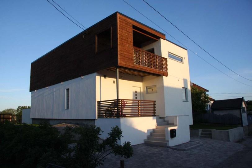 Ferdig hus i Celcon porebetong