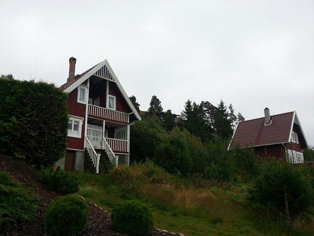 Omlegging av tak på to hytter