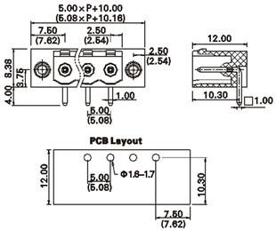 5 Pin Header Terminal Top Header Wiring Diagram ~ Odicis