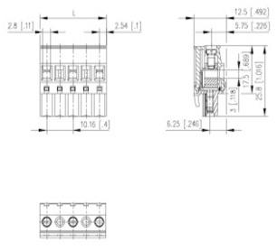 Pcb Terminals Block Pcb Drill Wiring Diagram ~ Odicis