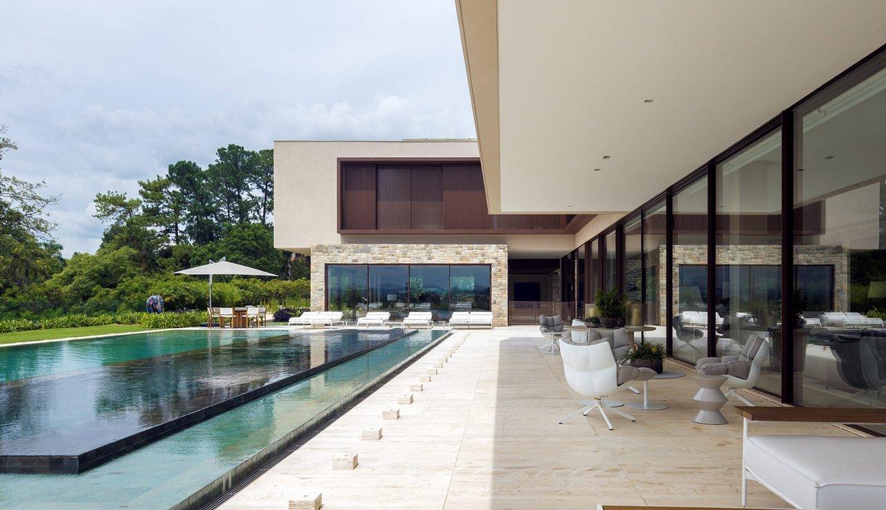 villa contemporaine, Villa São Paulo