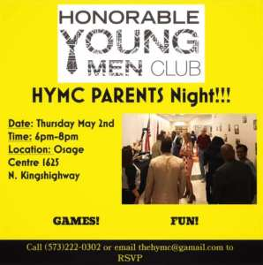 hymc parents night