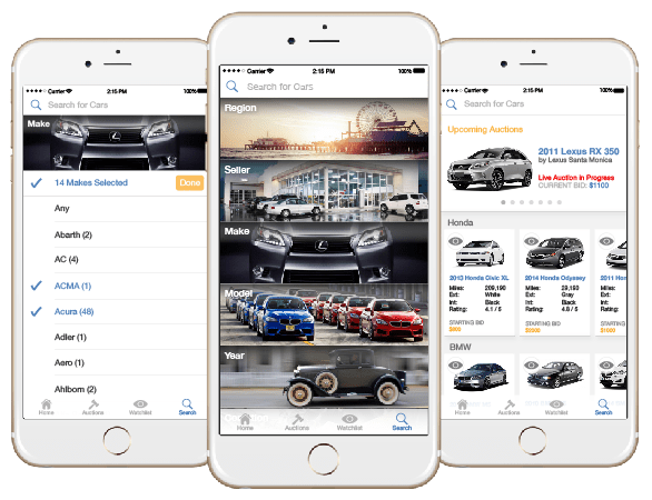 Car Auction Apps >> Open Trade Car Auction App Jinny Hyojin Oh