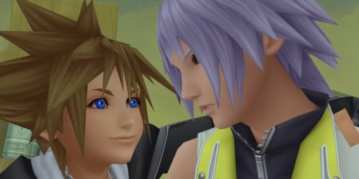 Kingdom Hearts Sora and Riku