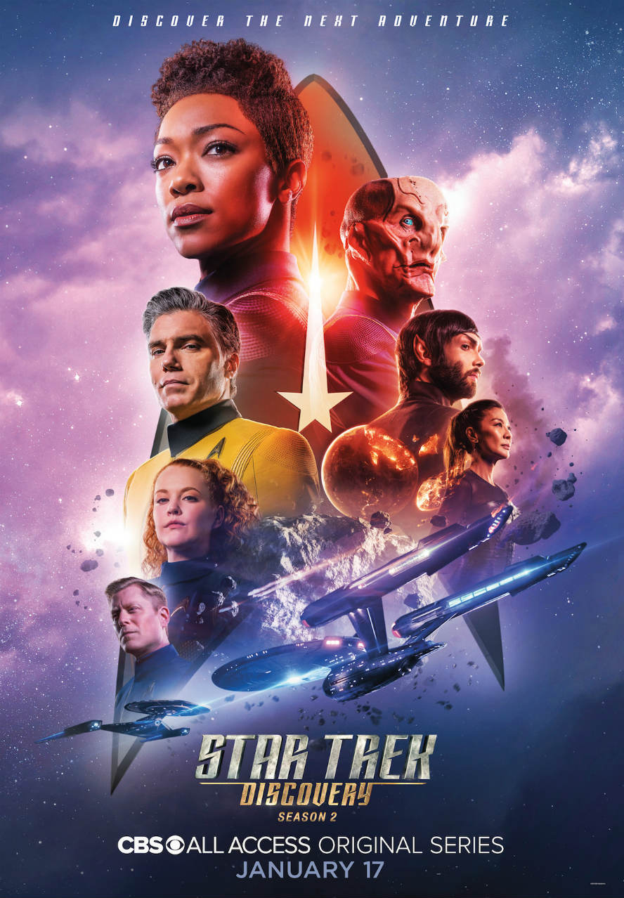 Star Trek Discovery season 2 trailer Is that a smile