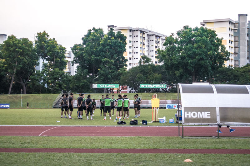 Geylang International FC Football Manager