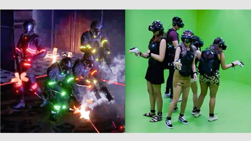 Sandbox VR Fight Off Zombies  Cursed Pirates In SGs First VR Escape Room In Orchard Central