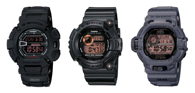 casio-gshock-men-rusty-black-1 Casio G-Shock Men in Rusty Black Pack