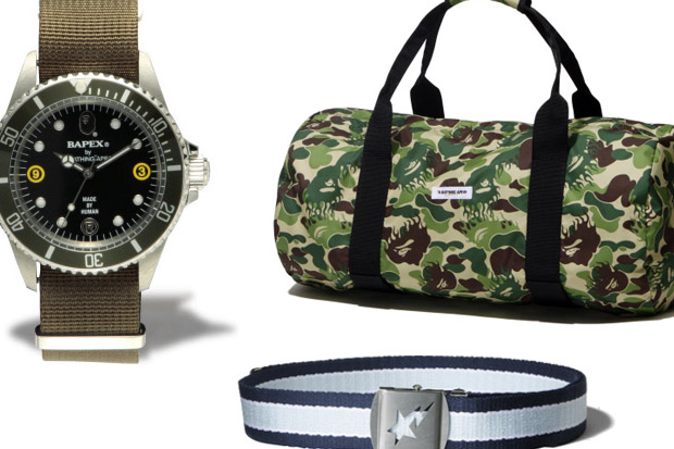a bathing ape bape 2009 spring accessories 1 A Bathing Ape Accessories 2009 March Releases