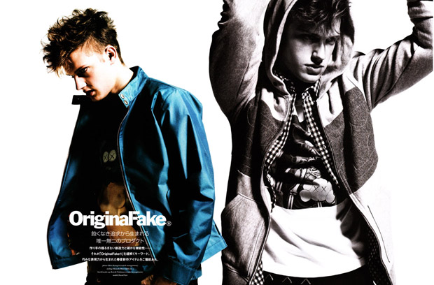 original fake 2009 ss photoshoot warp 1 OriginalFake 2009 Spring/Summer Photoshoot in Warp Magazine