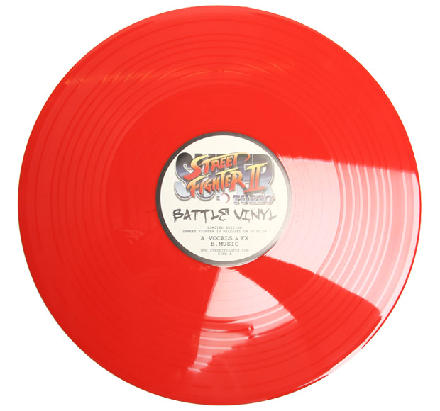 street fighter 2 ii turbo battle vinyl Street Fighter II Turbo Battle Vinyl