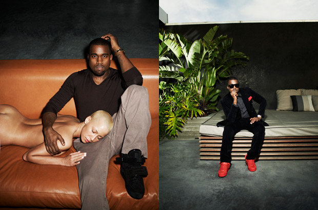 kanye west steve shaw amber rose 1 Steve Shaw for Kanye West Louis Vuitton Photoshoot feat. Amber Rose