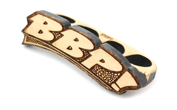 bbp 33 db 4 finger ring 1 BBP 33 D/B 4 Finger Wooden Ring