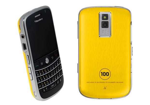 blackberry bold selfridges 100th anniversary BlackBerry Bold Selfridges 100th Anniversary Edition
