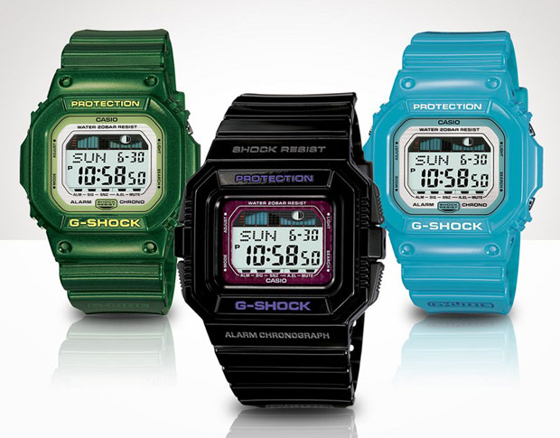 casio gshock glide 2009 may 1 Casio G SHOCK G LIDE 2009 May Collection
