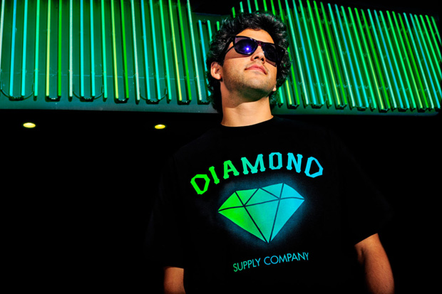 primitive x diamond collab tee 00 Primitive x Diamond Supply Co. Limited Edition Logo Tee