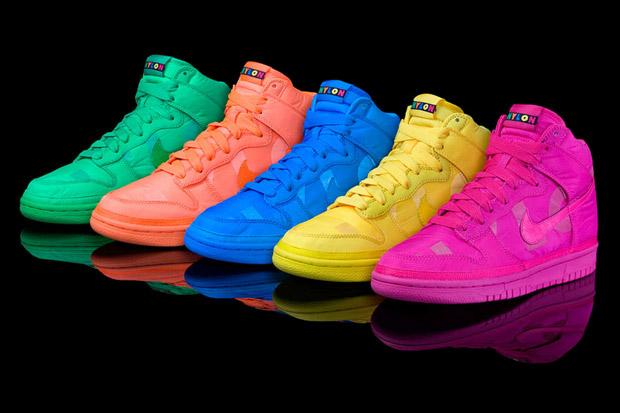 nylon magazine nike sportswear women dunk high 1 NYLON Magazine x Nike Sportswear Womens Dunk High