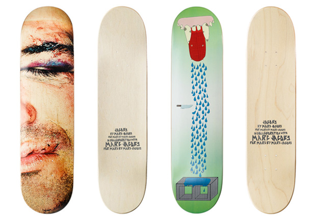 marc jacobs skate decks 1 Marc by Marc Jacobs Skate Decks