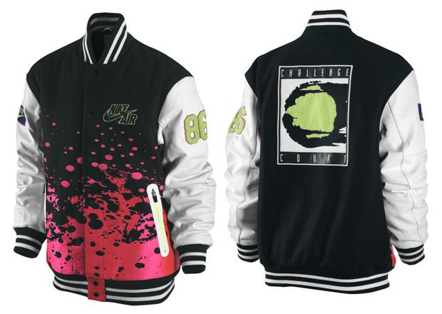 nike challenge court varsity jacket 1 Nike Challenge Court Varsity Jacket