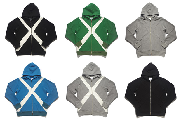 originalfake x zip down hoodies OriginalFake X Zip Down Hoodies