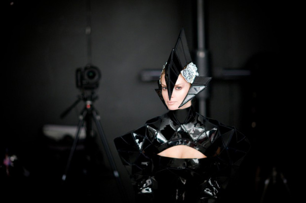 gareth pugh nick knight mercedes benz ad campaign 3 Gareth Pugh and Nick Knight for Mercedes Benz Ad Campaign