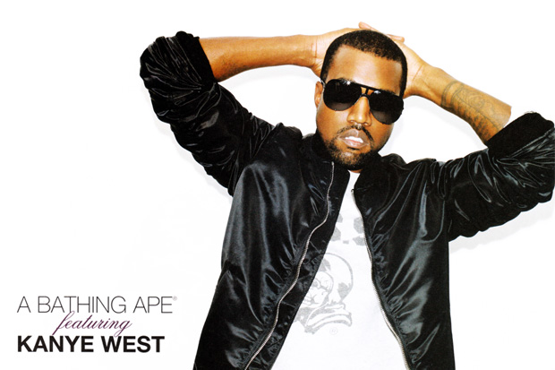 kanye west bape bathing ape spring 2010 lookbook 1 Kanye West for A Bathing Ape Spring 2010 Lookbook
