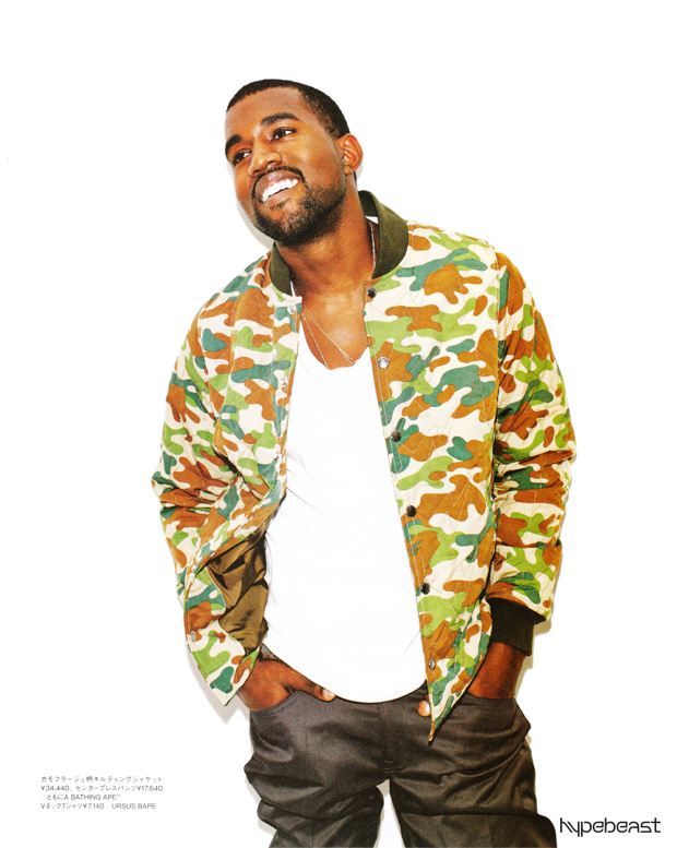kanye west bape bathing ape spring 2010 lookbook 8 Kanye West for A Bathing Ape Spring 2010 Lookbook