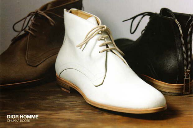 dior homme chukka boots 1 Dior Homme 2010 Spring/Summer Chukka Boot