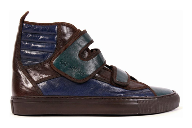 raf simons leather ankle sneakers Raf Simons Leather Ankle Sneakers