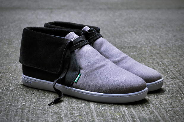 keep nuss blk grey 1 Keep 2010 Spring/Summer Nuss Sneakers