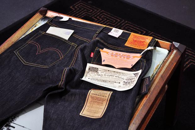 levis vintage clothing 1944 501 rigid denim 1 Levis Vintage Clothing 1944 501 Rigid Denim