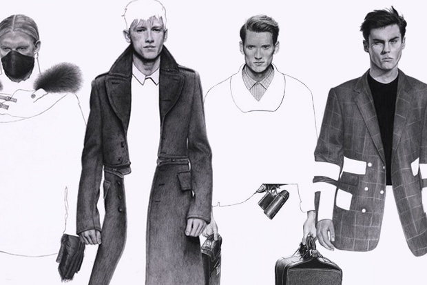 an illustrated look modern mens fashion richard kilroy 1 An Illustrated Look At Modern Mens Fashion by Richard Kilroy