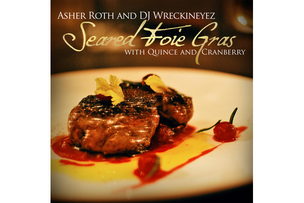 asher roth seared foie gras quince cranberry Asher Roth – Seared Foie Gras with Quince & Cranberry (Mixtape)