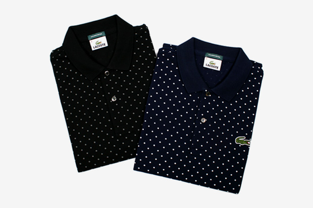 beauty youth lacoste polka dot polo Beauty & Youth x Lacoste Polka Dot Polo