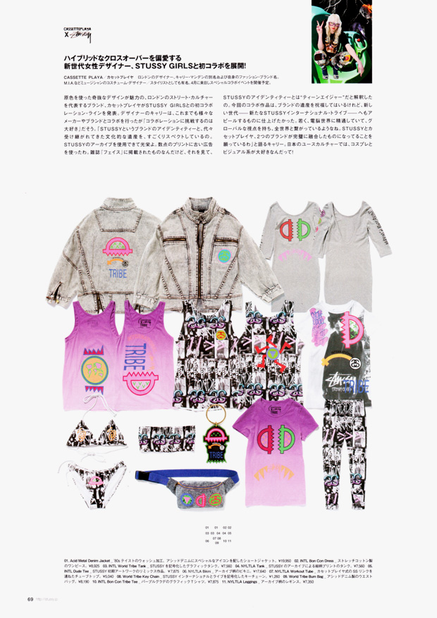 cassette playa stussy collection 5 Cassette Playa x Stussy Capsule Collection Preview