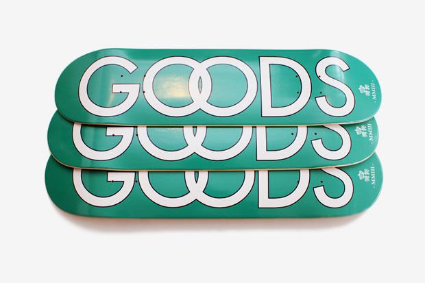 good skate deck Goods Skate Deck