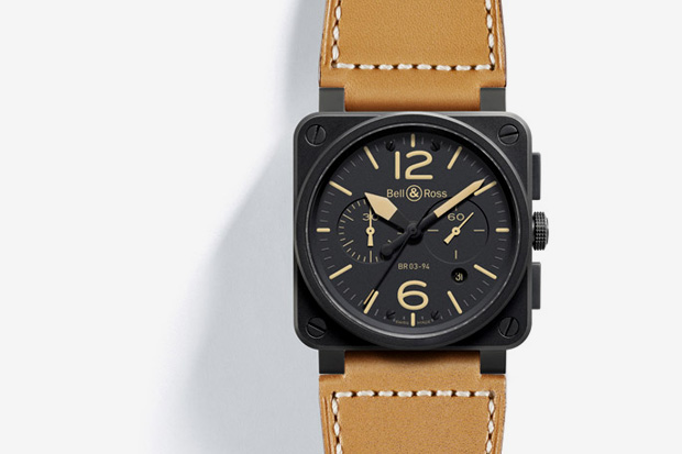 bell ross instrument br 03 94 heritage watch 1 Bell & Ross Instrument BR 03 94 Heritage