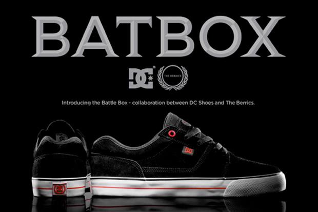 the berrics dc shoes battle box The Berrics x DC Shoes Battle Box