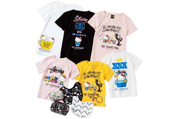 hello kitty stussy xxx part 2 XXX Stussy x Hello Kitty Capsule Collection Part Two