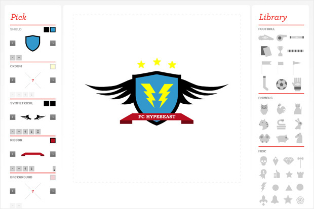 umbro crest design competition