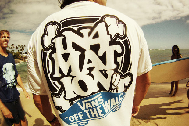 in4mation vans hawaii tshirt 11 Vans x In4mation Hawaii T shirt Collection