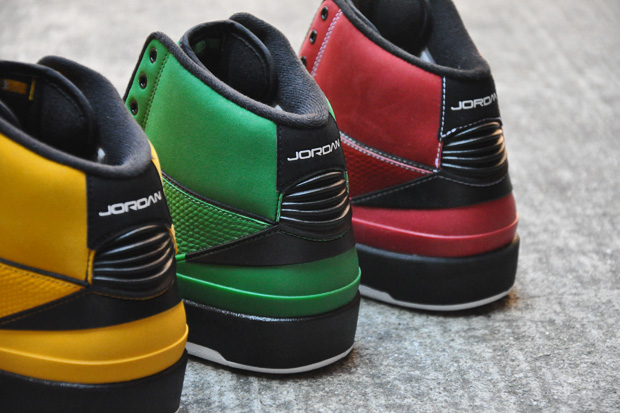 air jordan ii rasta pack 5 Air Jordan II Retro Candy Pack
