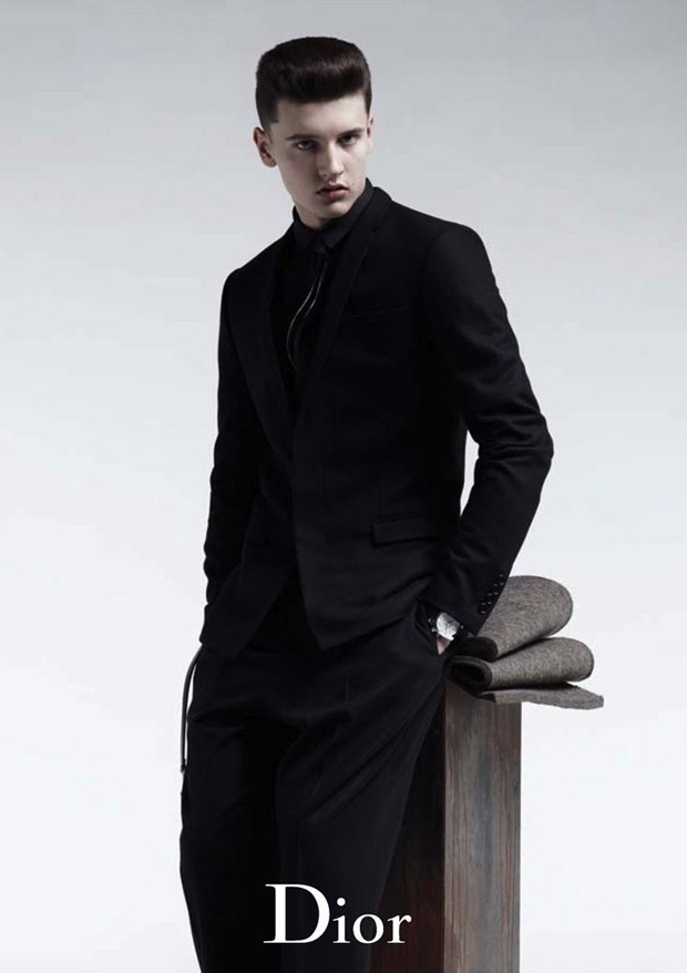 dior homme 2010 fallwinter campaign 4 Dior Homme 2010 Fall/Winter Campaign