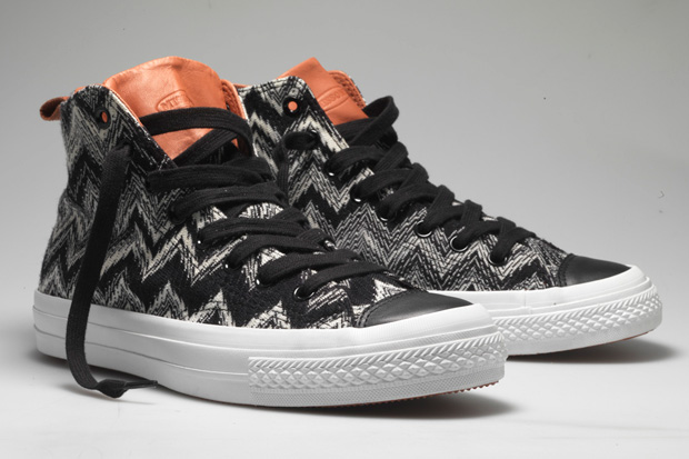 missoni converse fall2010 collection 1 Missoni x Converse Chuck Taylor 2010 Fall Collection