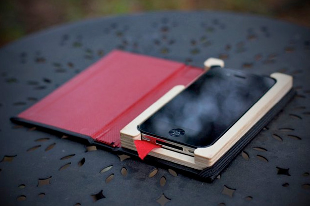 pad quill black book iphone case 0 Pad & Quill The Little Black Book iPhone Case