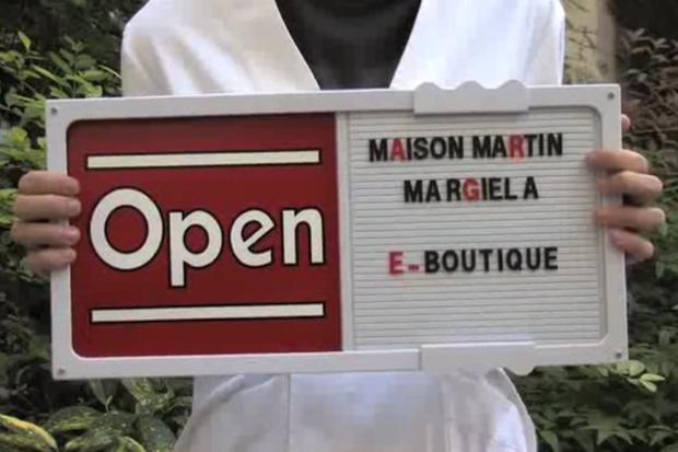 maison martin margiela e boutique 01 Maison Martin Margiela E Boutique Opening